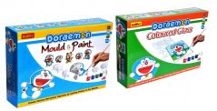 Doraemon Do-it-Yourself Mould and Paint and Coloured Glass for Kids by Budd