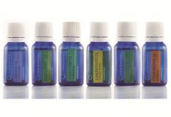 Top 6 Certified Organic Essential Oils - 100% Pure Natural & Therapeutic grade by Omniscentral  Pack of 6 (Each 15ml)