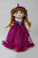 Baby Doll Girl  Amaira  Wine Color by Lovely Toys(Code - LTDAMW_05)