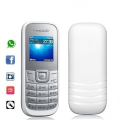 Shop or Gift Dual Sim Premium Mobile Phone Camera Whatsapp 1.8 inch Color Screen FM Torch Online.