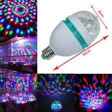 Shop or Gift 360 Degree Rotating LED Disco Bulb Light Online.