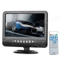 "Small & large appliances - Eci 7.5"" Mini TFT LCD Screen Portable Color TV Car Shop USB SD MP3 MP4 Play"