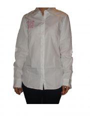 Nick&jess Women's Clothing - Nick&jess Ladies White Casual Shirt GSFS018CWHT
