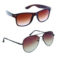 Nectar Wayfarer Aviator Sunglasses For Men
