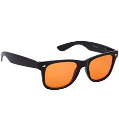 Nectar Orange Wayfarer Sunglasses for Men