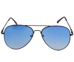 Petrol Blue Aviator Sunglasses for Men