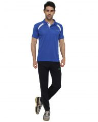 SGX Men's Stylish Polo Neck T-Shirt SGXPNDF16-LBU