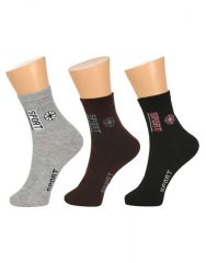 Grabberry Mens Assorted Printed Ultra Light Weight Formal Cotton 3 Pairs Pack Socks - Awc0916grb015e_d5_c3