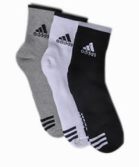 Shop or Gift Adidas pack of 3 socks Online.
