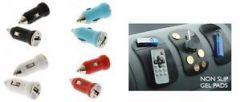Universal USB Car Charger Anti Slip Car Dashboard Magic Mat Pad