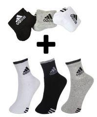 Buy 3 Pair Adidas Socks Get 3 Pair Adidas Socks Free