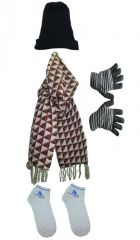 Winter Wear (Women's) - Winter Dhamaka - Regular Woolen Winter Cap Soft Woolen Winter Gloves
