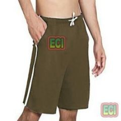 Gents Brown Shorts Jogging Nicker, Men Hosiery Cotton Bermuda Half Pant