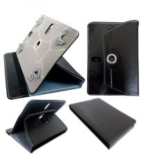 Universal Flip Cover 7 Inches For All Tablets Of 7 Inches Black