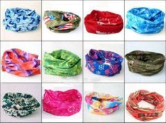 Set Of2 Pc. Multifunctional Stylish Scarf Unisex Bandana