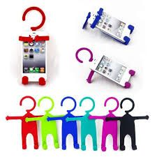 Multipurpose Universal Flexible Silicon Cell Phone Holder Car Home Mobile Hanger Mount For All Smartphones