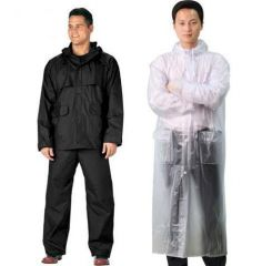 Buy 1 Men''s Complete Rain Suit & Get 1 Transparent Raincoat Free