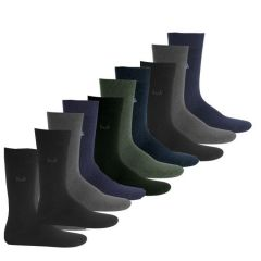 Pack Of 10 Pairs Cotton Socks - Set_of_ten_socks