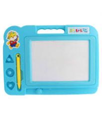 DRAWING & WRITING SLATE / BOARD FOR CHILDREN. WRITING SLATE / DRAWING PRACTICE SLATE / MAGNETIC RUBBER AND PENCIL