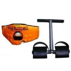 3 In 1 Sauna Vibration Vibrating Belt Plus Tummy Trimmer