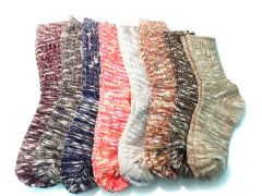 Men's Full Calf Length Wollen Socks Pack Of 6 Pairs