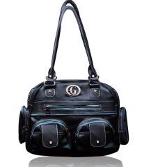 Shop or Gift Fostelo Black Multiutility Handbag Online.