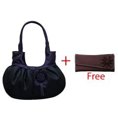 Shop or Gift Buy Fostelo Handbag and Get Clutch Free Online.