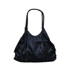 FOSTELO LIL HEARTS FLAP BLACK HANDBAG