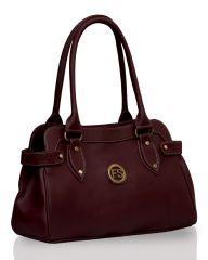 Fostelo Jessy Stylish Maroon Handbag