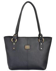 Fostelo Messenger Black Handbag (FSB-570)