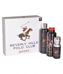 Perfume Gift Sets - Beverly Hills Polo Club Gift Set  No.2 - For Men