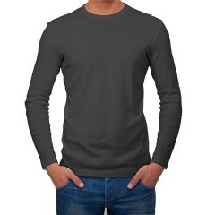 AALRYT Cotton Long Sleeve T-Shirt-FLV001BLK