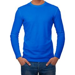 AALRYT Cotton Long Sleeve T-Shirt-FLV001RBL