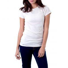 AALRYT Fashion White Cotton Ladies Top-LTP00NWHT
