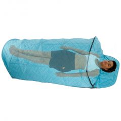 Portable Four layer Fabric Steam Cabin Arch Spa Sleeping Swan for Weight Loss without Steam Pot