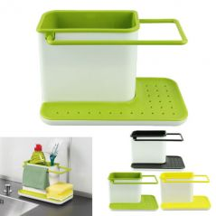 Shop or Gift KAWACHI PLASTIC CABINET STORAGE 3 IN 1 KITCHEN SINK ORGANIZER RACK Online.