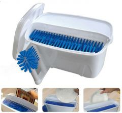 Easy Dish Washer Wash Dishes, Cleans Forks, Spoons & Knives With Just One Swipe