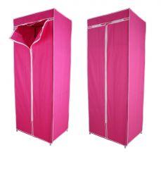 Kawachi Bedroom Furniture - Kawachi Single Canvas Clothes Storage Organiser Wardrobe Cupboard Shelving