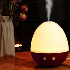 Kawachi Egg Shape USB Air Purifier Atomization Machine for Home & Car