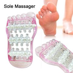 Kawachi Mini Portable Foot Fatigue Relieve Massage Roller for Blood Circulation Excreting Toxins
