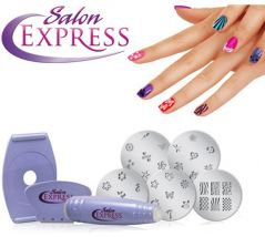 Shop or Gift Salon Express Nail Art Stamping Kit Online.