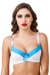 Fasense Solid Push-up Underwire Bra BR-003A