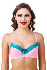 Fasense Solid Push-up Underwire Bra BR-003F
