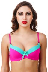 Fasense Solid Push-up Underwire Bra BR-003H