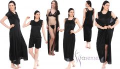 Shop or Gift Fasense Women 6 pcs Nightwear Set Online.