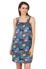 4ba8ce9ca4 Fasense Exclusive Women Shinker Cotton Nightwear Sleepwear Short Nighty