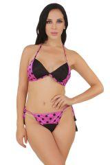 Fasense Exclusive Women Satin Nightwear lingerie Set, Bra & Thong