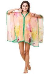 Fasense Floral Printed Multi  Beachwear Cover Up MM005 B