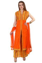 Fasense Women Ethinic Wear Readymade Kurta & Palazzo Set VG077 E