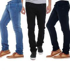 Stylox Pack Of 3 Denims - Men's Lifestyle